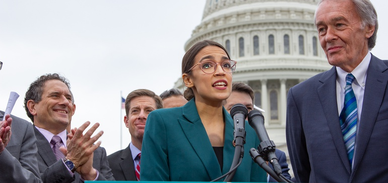 Nukes can have small role in Green New Deal, backers say