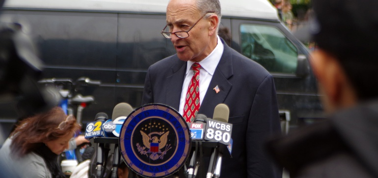 Schumer to Trump: To get infrastructure deal, make renewable tax credits permanent