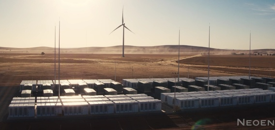 World's largest 100 MW Powerpack lithium-ion battery system in South Australia